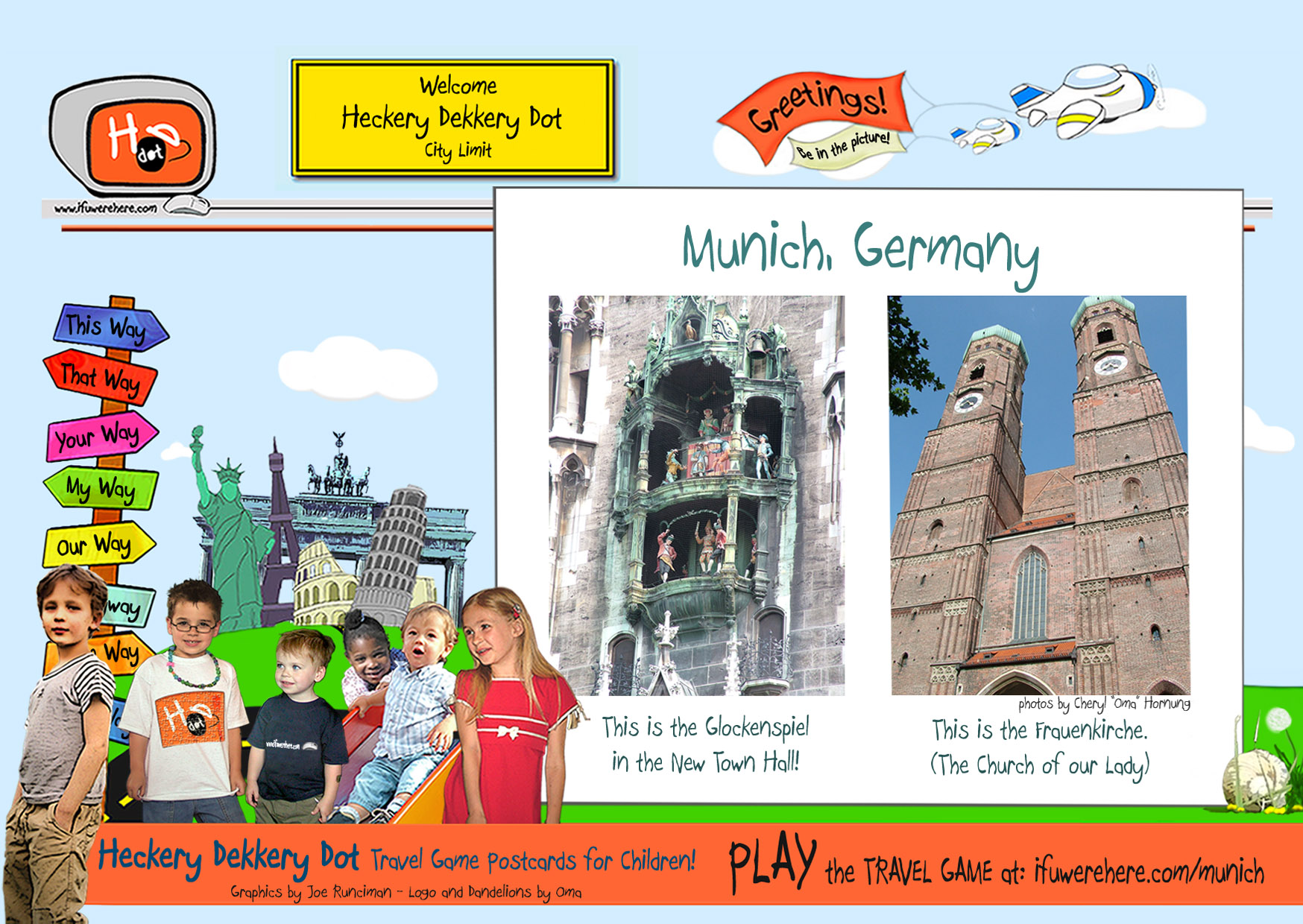 (1) How much do you know about Munich, Germany?