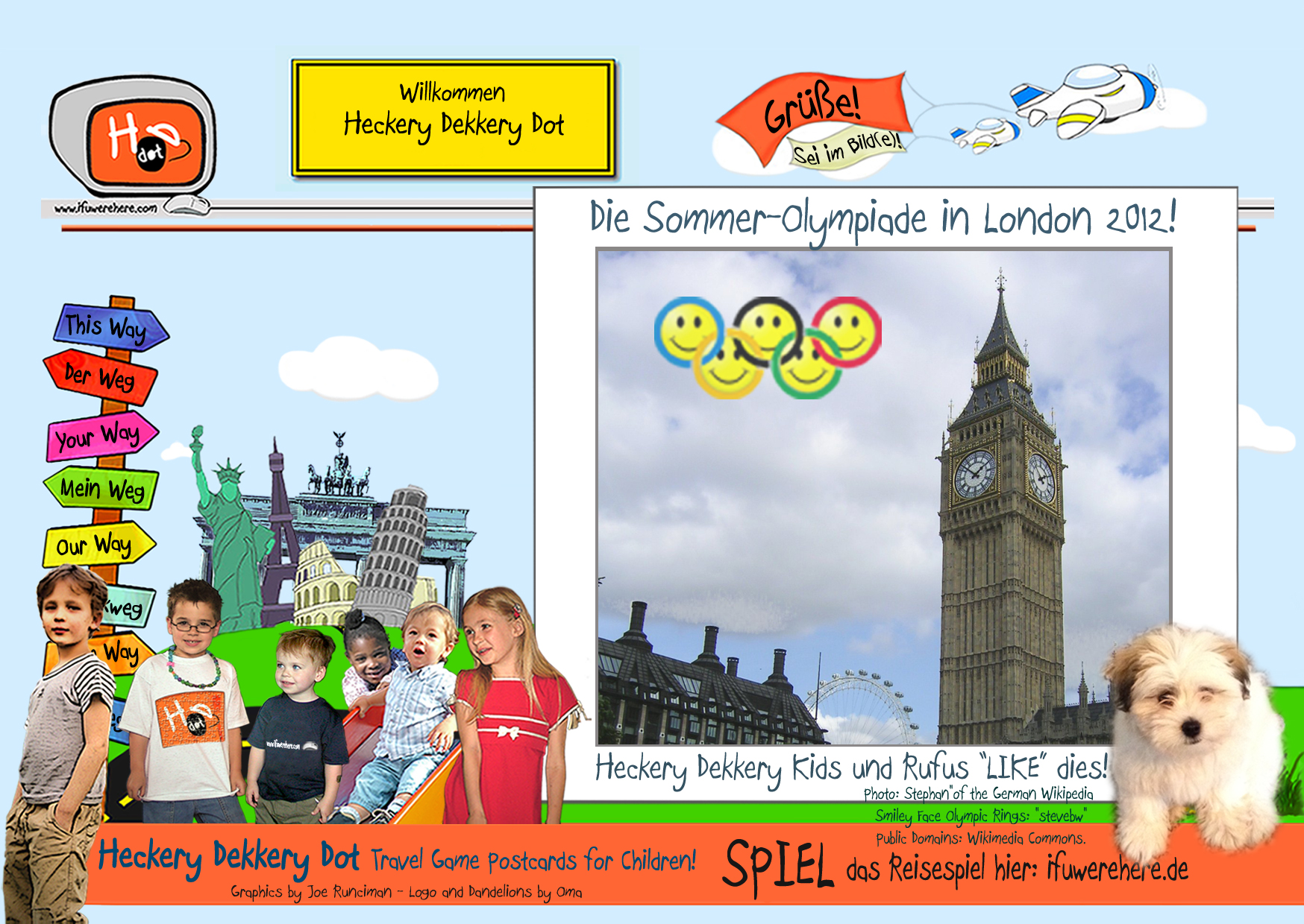 The 2012 Summer Olympics in London (German)